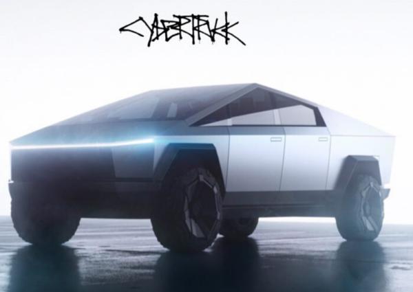 Nový Tesla - Cybertruck