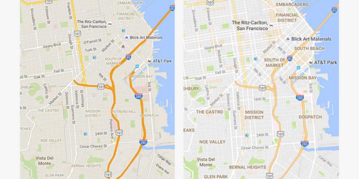 Google mapy sa zlepšia