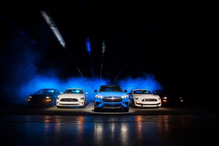 Nový Ford Mustang Mach-E