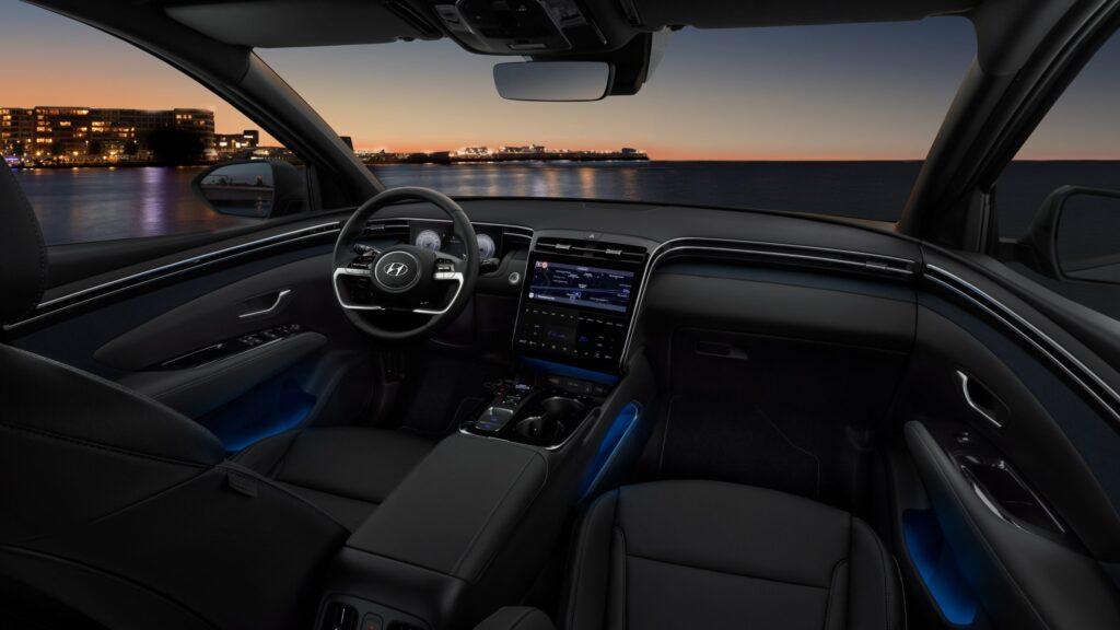 Exkluzívny interiér nového Hyundai Tucson: Zdroj Hyundai