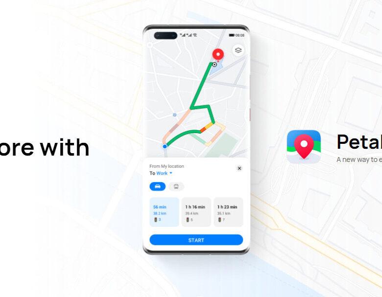 Nová navigácia od Huawei! TOTO sú PETAL MAPS