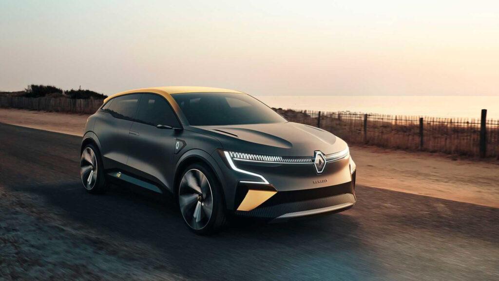 Nový koncept elektromobilu Renault eVision. Zdroj: Renault