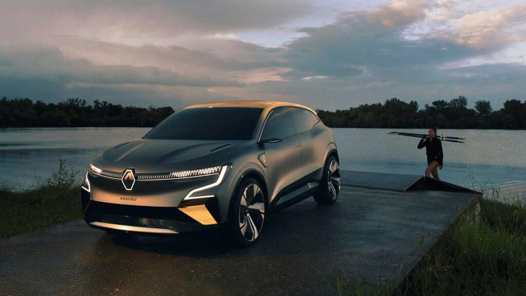 Nový koncept elektromobilu Renault eVision Zdroj: Renault