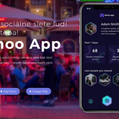 Slovenská aplikácia WHOO dobíja slovenský App Store!