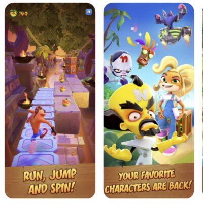 Crash Bandicoot mieri na mobilné zariadenia.