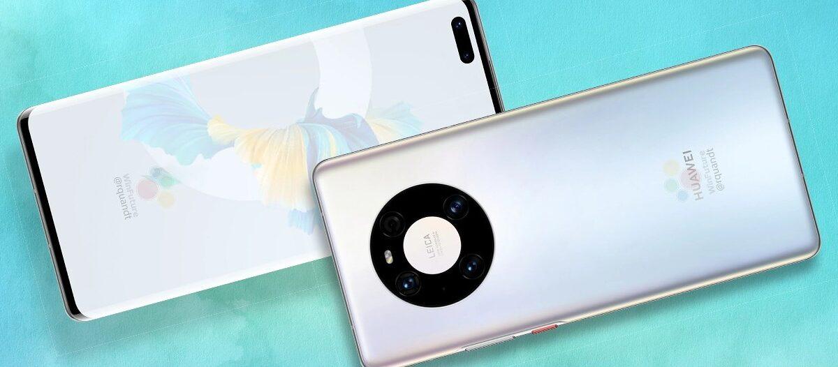 Toto sú nové Huawei Mate 40 Pro!