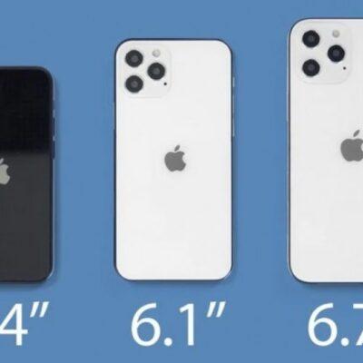 Porovnanie nových iPhone 12