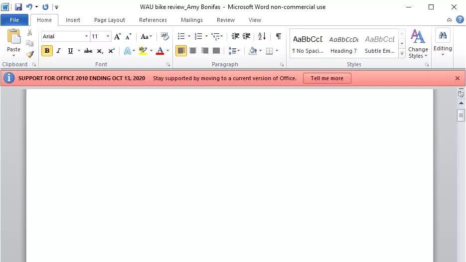 Microsoft Office 2010 bude bez podpory!