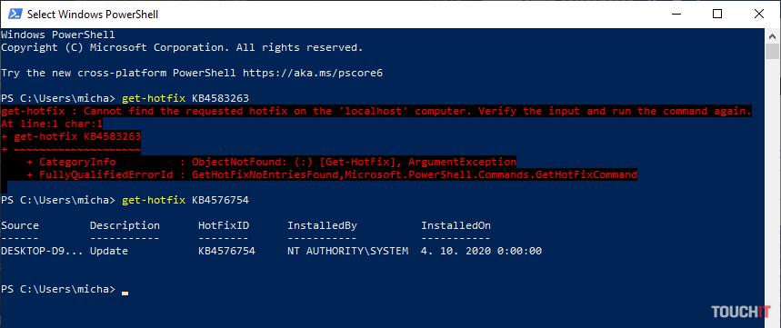 Windows 10 aktualizácie zistíte najrýchlejšie pomocou nástroja Powershell