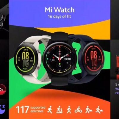 Xiaomi Mi Watch prichádzajú do Európy 2