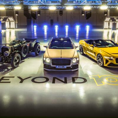 Bentley- E mobilita
