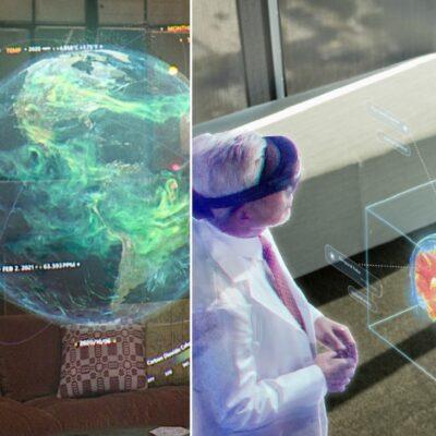 Prichádza budúcnôsť od Microsoft! Hologramy
