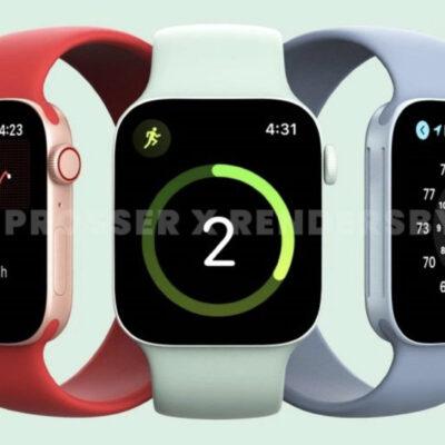 Čo prinesú nové Apple Watch Series 7?