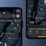 Tmavý režim Google Maps!